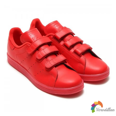 红色风暴:adidas Originals Stan Smith CF Triple Red配色