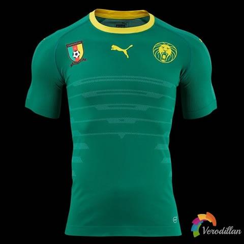 彪马发布喀麦隆国家队2016年主场球衣