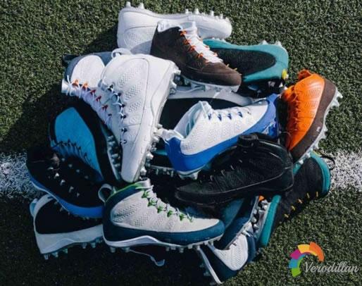 JORDAN BRAND打造AIR JORDAN 9全新美式足球鞋款