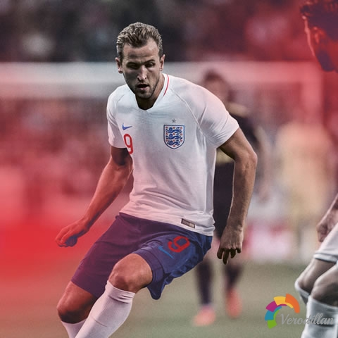 英格兰国家队发布2018世界杯主客场球衣