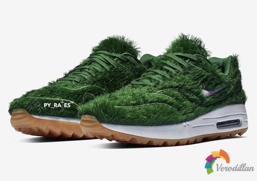 颠覆性设计:Nike Air Max 1 Grass配色细节预览