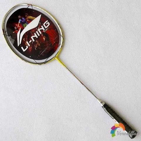 [球拍近赏]李宁WOODS N80羽毛球拍