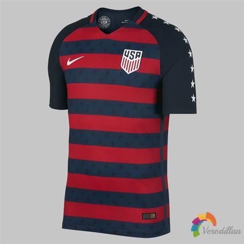 耐克发布美国国家队2017金杯赛特别球衣