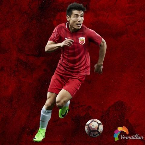 中超新贵:上海上港2017赛季主场球衣