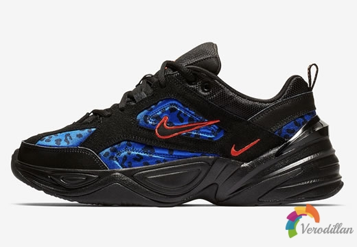 Nike M2K Tekno最新配色蓝豹抢先预览
