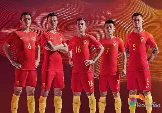 [球衣近赏]中国国家队2016/17赛季主客场球衣