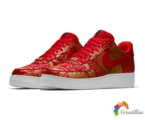 喜迎新年:Nike AIR FORCE 1别注中国新年花纹登陆NIKEID