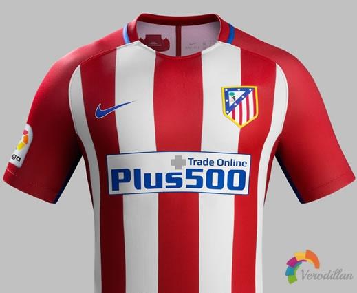 床单军团:马德里竞技2016/17赛季主场球衣