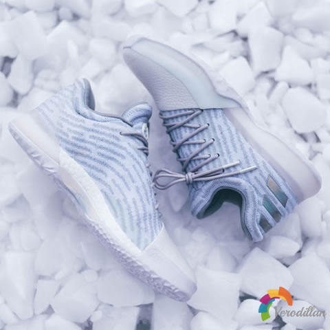 白色迷情:adidas Harden Vol.1 13 Below Zero全新配色