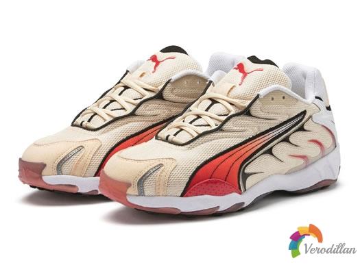 PUMA Inhale Reissue经典跑鞋,火焰图腾上身
