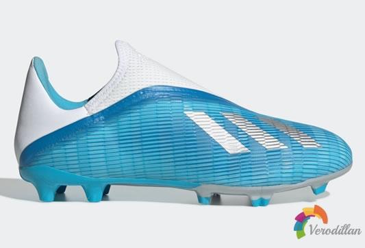 Adidas X 19.3 LL无鞋带足球鞋发布