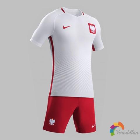 波兰国家队携手耐克发布2016欧洲杯主客场球衣