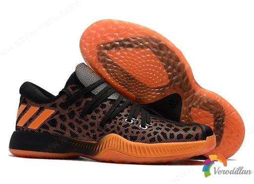 表现均衡:Adidas Harden B/E(黑橙)实战测评报告
