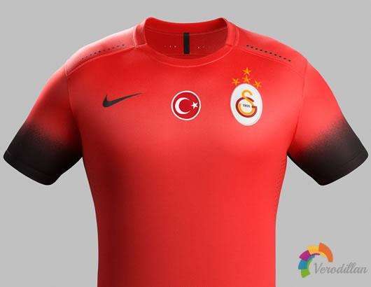 加拉塔萨雷官方推出2015/16赛季第二客场球衣