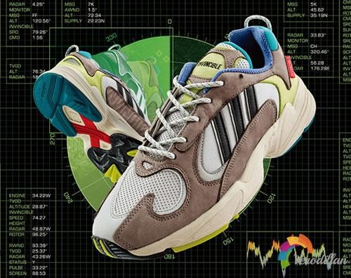 复古风味十足:INVINCIBLE x adidas YUNG-STUD鞋款