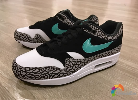 Nike Air Max 1 atmos Elephant开箱报告