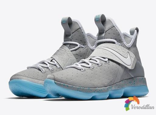 Nike LeBron 14 MAG,以回到未来主角为灵感