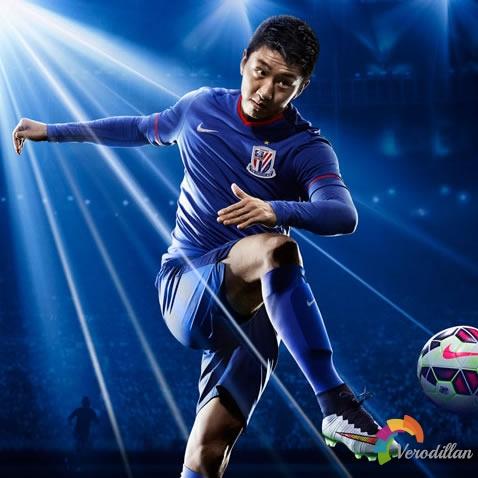 打破阴霾:上海申花2015赛季主场球衣