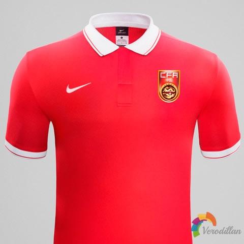 中国国家队2015年亚洲杯主客场球衣鉴赏图1