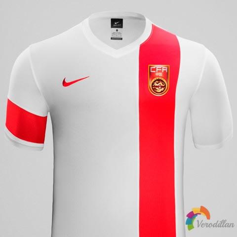 中国国家队2015年亚洲杯主客场球衣鉴赏图2