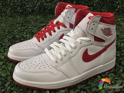 红白复古亮相:AIR JORDAN 1 HIGH OG METALLIC RED