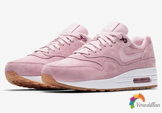 Nike Air Max 1全新配色Pink Suede粉亮出闸