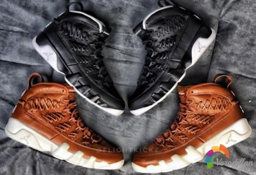 Air Jordan 9 Baseball Glove,乔丹棒球生涯纪念鞋款