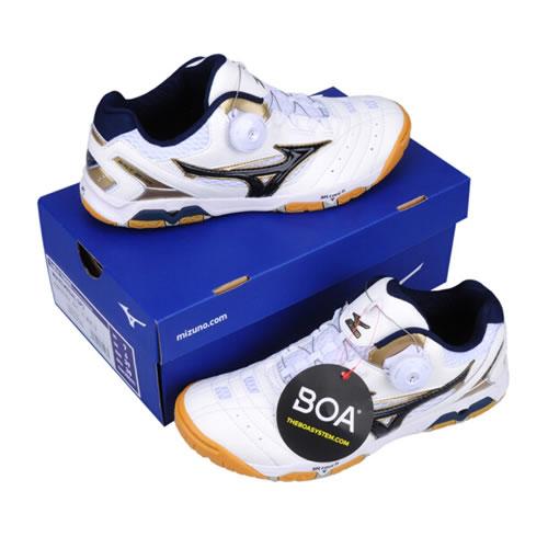 美津浓81GA151214 WAVE MEDAL SP3男女乒乓球鞋图5高清图片