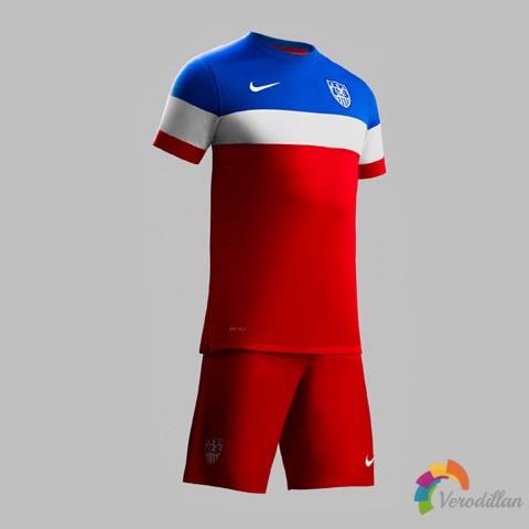 简约经典:美国国家队2014世界杯客场球衣