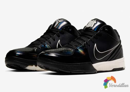 UNDEFEATED x Nike Kobe 4 Protro黑色版本谍照曝光