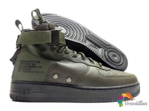 军事感再升级:Nike SF-AF1 Mid Sequoia登场