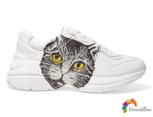 Gucci猫脸款复古老爹鞋迎来发售