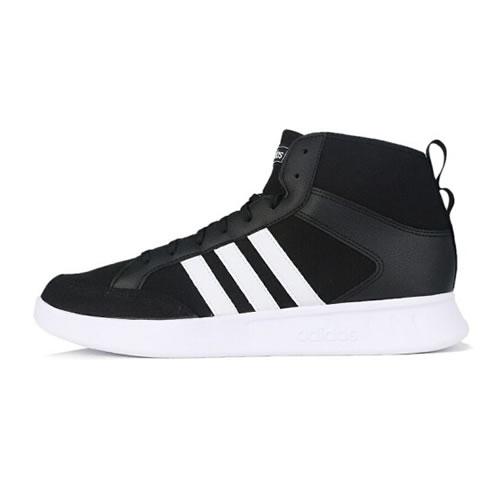 阿迪达斯EE9682 COURT80S MID男子网球鞋
