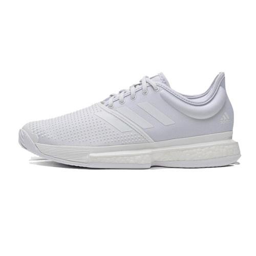 阿迪达斯EF2071 SoleCourt M Primeblue男子网球鞋