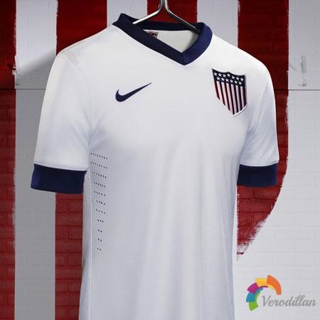 解读美国国家队2013百年纪念球衣