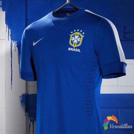 巴西国家队2013联合会杯客场球衣简评