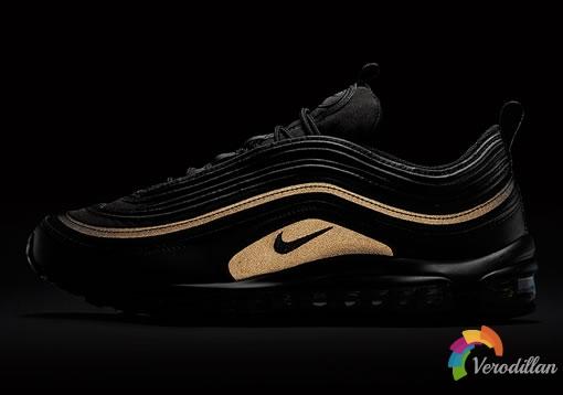 Nike Air Max 97 BLACK GOLD,难得一见的奢华美感