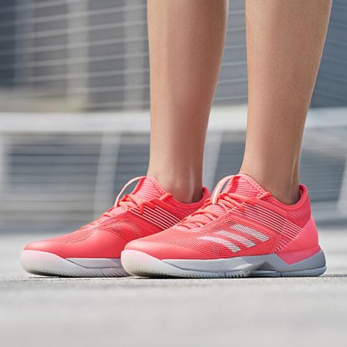 阿迪达斯CG6442 adizero ubersonic 3 w女子网球鞋图7