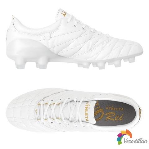 ATHLETA O-Rei Futebol A001白金配色,适合多种场地需求