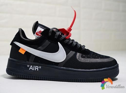 Off-White x Nike Air Force 1全黑版本谍照曝光