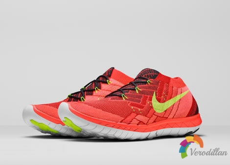 Nike 2015 Free跑鞋,兼具时尚外观和跑步性能