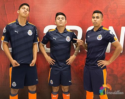 瓜达拉哈拉发布2016/17赛季第二客场球衣