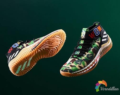 最潮篮球鞋:ADIDAS ORIGINALS BY BAPE DAMIAN LILLARD DAME 4重磅降临