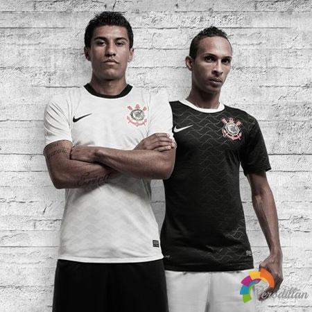 科林蒂安官方发布2012赛季主客场球衣