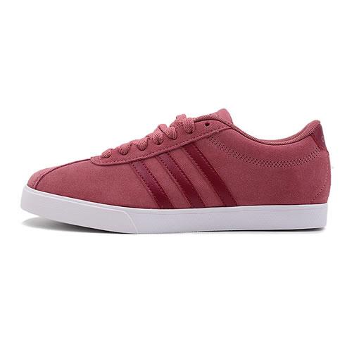 阿迪达斯B44618 COURTSET女子网球鞋