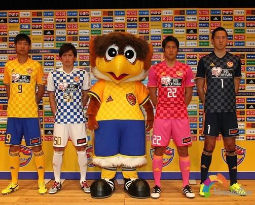 仙台七夕携手阿迪达斯发布2017赛季主客场球衣