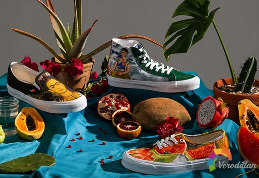 Vans by Vans x Frida Kahlo系列,致敬墨西哥超现实主义画家