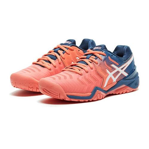亚瑟士E751Y GEL-RESOLUTION 7女子网球鞋图12