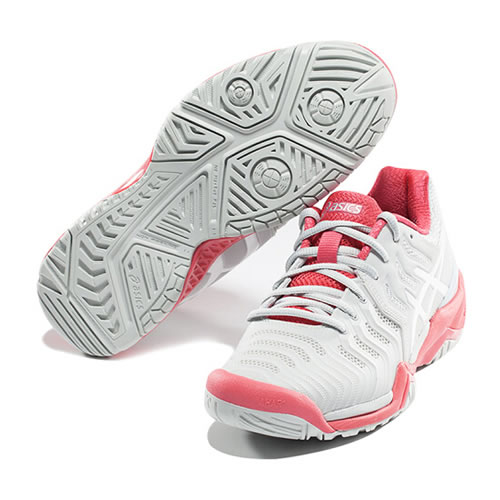 亚瑟士E751Y GEL-RESOLUTION 7女子网球鞋图10
