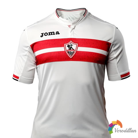 扎马雷克携手Joma发布2017赛季主场球衣